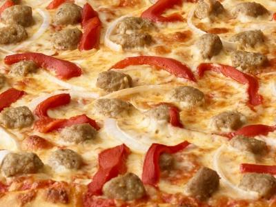 Pizza cu vită